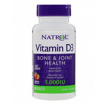Vitamin D3 5000 IU 90 таб Natrol