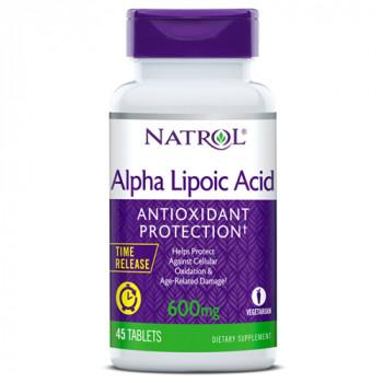 Alpha Lipoic Acid 600 мг 45 таб Natrol