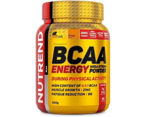BCAA Energy Mega Strong 500г Nutrend