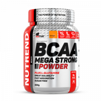BCAA Mega Strong 500г Nutrend