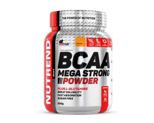 BCAA Mega Strong 500г Nutrend