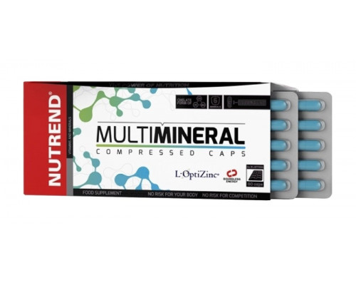 Multimineral 60 капс Nutrend