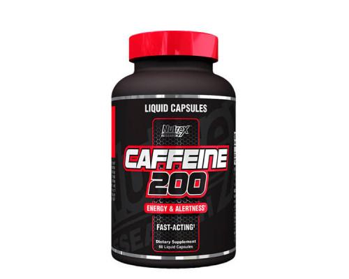 Caffeine 200 liquid 60 caps Nutrex