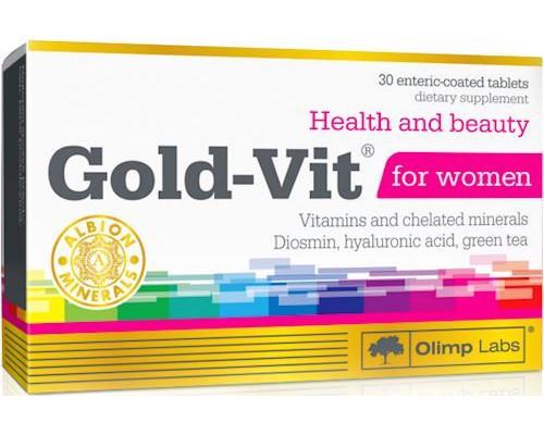 Gold-Vit for women 30 tablets Olimp
