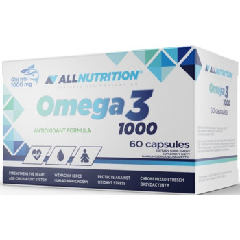 Omega 3 60caps All Nutrition