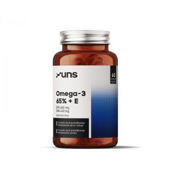 Omega-3 65%+E 60caps UNS