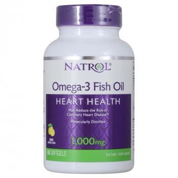 Omega-3 Fish Oil 1000 mg 60 капс Natrol