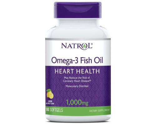Omega-3 Fish Oil 1000 mg 90 капс Natrol