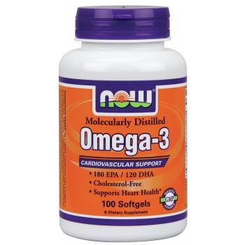 Omega-3 1000 mg 100 softgels NOW