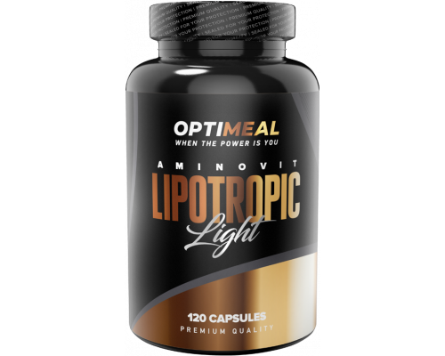 Lipotropic light 620 мг 120капс OptiMeal