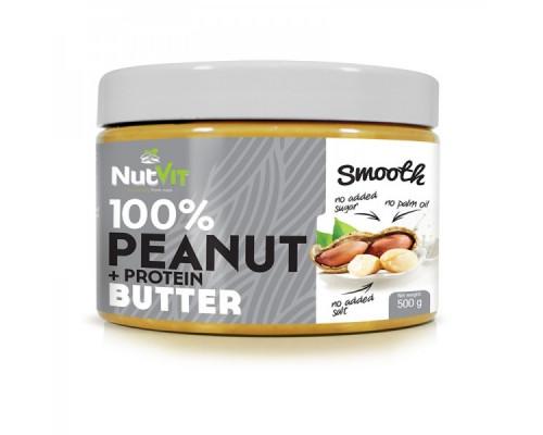 NutVit Peanut + Protein Butter 500g OstroVit