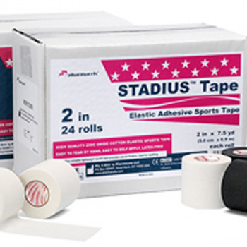 23055 STADIUS Tape pharmacels, легкоразрываемый, ZnO, (5,0см*6,9м), белый,1/24