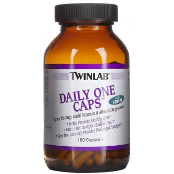 Daily One w/iron w/floraglo 180caps Twinlab