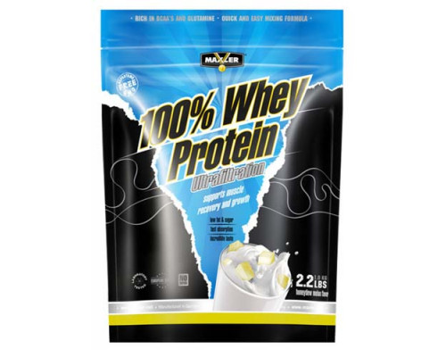 Ultrafiltration Whey Protein 1000 гр пакет Maxler