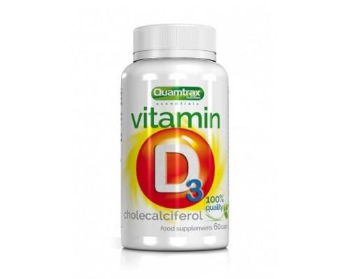 Vitamin D3 60 капс Quamtrax