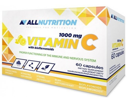 Vitamin C 1000mg + Bioflaw 60 caps All Nutrition