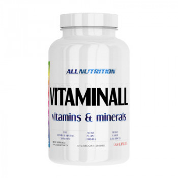 VitaminALL Vitamins and Minerals 120 caps All Nutrition