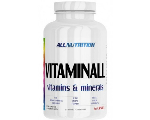 VitaminALL Vitamins and Minerals 60caps All Nutrition
