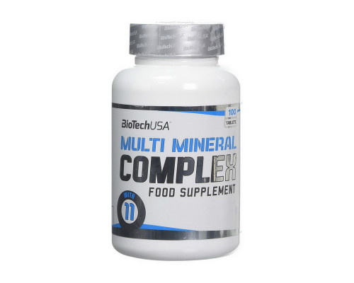 Multimineral Complex 100 tabs BioTech