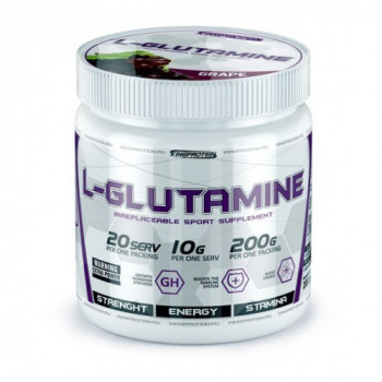 L-glutamine 200g King protein