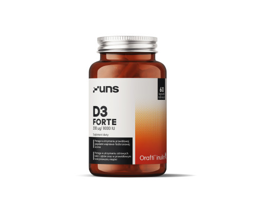 D3 Forte 60caps UNS